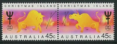Christmas Island 1997 Year of the Ox  MNH