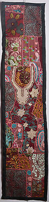 Tapestry Vintage Throw Patchwork Wall Hanging Embroidery Tapestry Table Runner