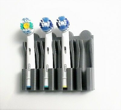 Oral B electric toothbrush head holder