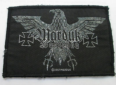 Marduk Collectable Vintage Patch  Woven  English Picture