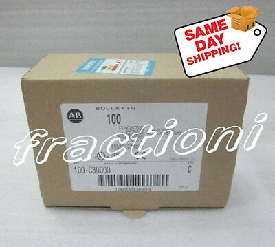 Allen-Bradley AB Contactor 100-C30D00, New In Box, 1-Year Warranty !