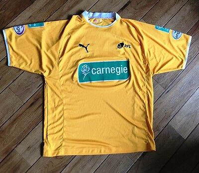 Vintage Carnegie Super League RFL Rugby League Referee Shirt - Size: Large