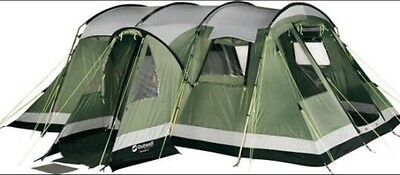 Outwell Montana 6 Tent, Footprint And Canopy