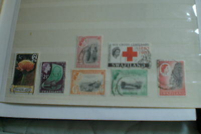 Swaziland Stamps-Used Various Total 7 Stamps