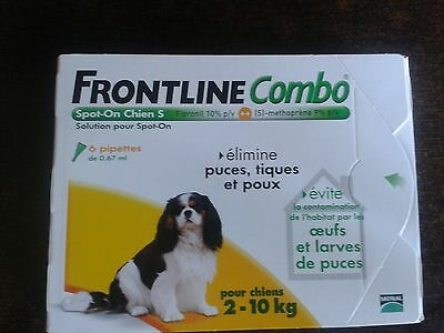 Frontline Combo Spot-On S Chien (2-10 kg) - 6 pipettes
