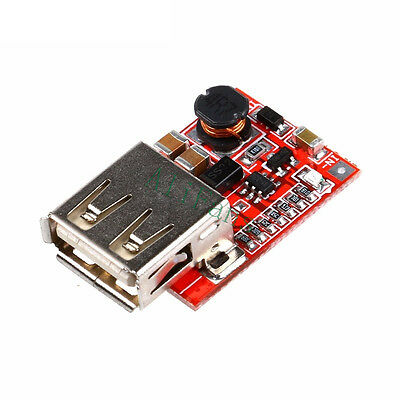 3V to 5V USB Charger Step-up Boost Module DC-DC Converter For MP3 MP4 Phone 1A