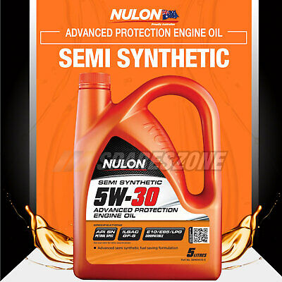 Nulon Semi Synthetic 5W-30 Advanced Protection Engine Oil 5L INFINITI FX50 4WD