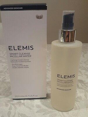 Elemis Smart Cleanse Clarifying Micellar Water 200 Ml RRP  £32