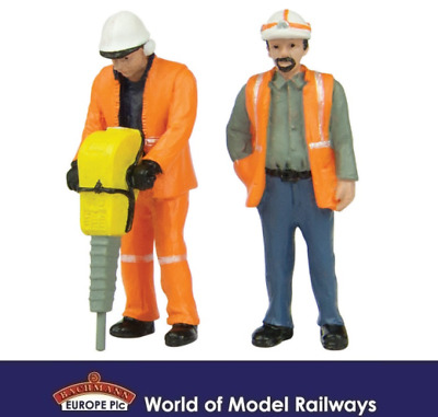 Bachmann 47-401 Lineside Workers A Figures (Pack of 2) O Gauge
