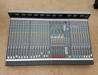 Allen & Heath GL3300 mixing console with PSU, VU meters and cover - Hardly used