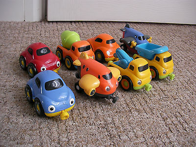 8x Early Learning Centre ELC Magnet Link Cars
