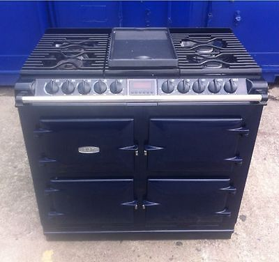 Aga Six-Four S Series Range Cooker In Royal Blue