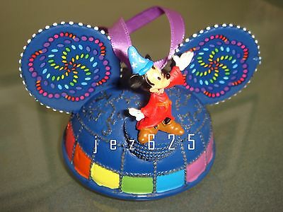 Disney Paint The Night Sorcerer Mickey Light-up ear hat ornament
