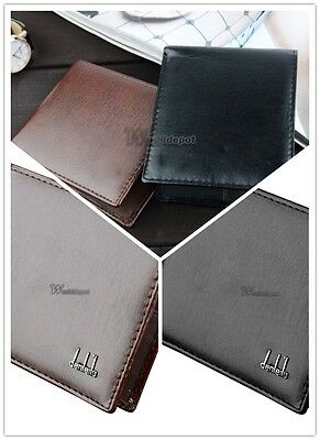 Men's Synthetic Leather Wallet Money Pockets Cards Holder Purse 2 Colors C8F9