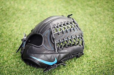 Nike Sport MVP Edge Baseball Glove Size 12 inch Blue Red Yellow Color Authentic
