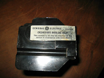 General Electric Overload Relay CR324G610FX New