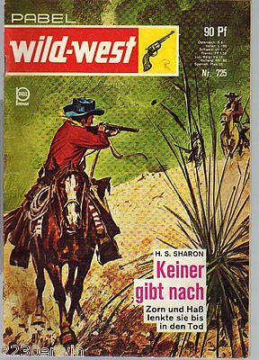 Pabel WILD-WEST Roman Nr.725 / H.S.Sharon / 1954-1972