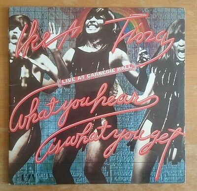 Ike & Tina Turner Live At Carnegie Hall Double LP