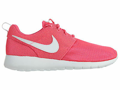 72c4f997bd17a Nike Girls Roshe One Big Kids 599729-609 Hyper Pink Mesh Running Shoes Size  4.5
