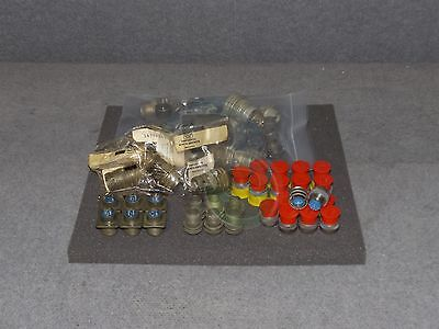 Lot Of Assorted Amphenol MS3723 MS3476 MS3102 MS3106 Military Connector Plug