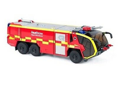Panther Heathrow 1:43 Scale Model Fire Truck