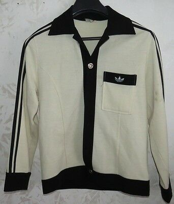 Rare Vintage Giacca Jacket Track Suit Football Adidas Size 50 Retro Vintage