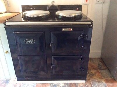AGA 30 Amp Economy 7 two oven cooker
