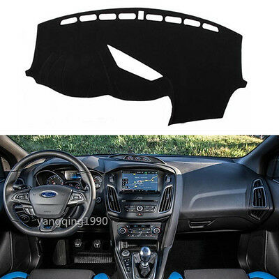 For Ford Focus RS 2015 2016 2017 Dashboard Dash Mat DashMat Sun Cover Pad