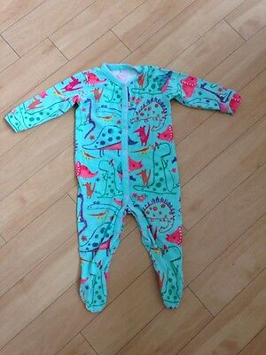 Next Girls Dinosaur Sleepsuit 12-18 Months