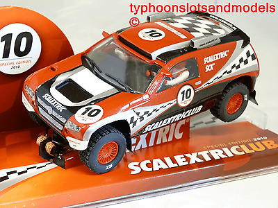 6443 SCX/Scalextric VW Touareg - Scalextric Club Special Edition 2010 - New