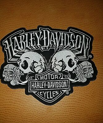 Harley davidson patches large