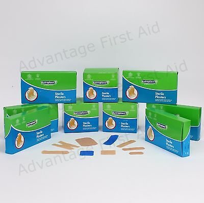 Sterile Washproof First Aid Plasters Wallace Cameron. Various Qty, Size & Colour