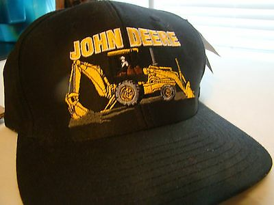 John Deere Cap New with Tag = 100% Cotton - Fits All Sizes