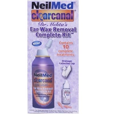 NeilMed Clearcanal Ear Wax Remover 177ml 1 2 3 6 12 Packs