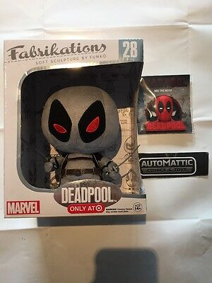 Funko POP Vinyl Fabrikations: Plush Deadpool 28 X-force Variant Target Exclusive