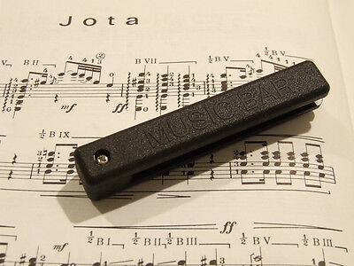 'the Music Bar' Acoustic Guitar Mute. The Best Way To Practice Quietly