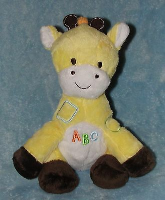 Child of Mine Plush Giraffe ABC Song Stuffed Baby Toy Carters