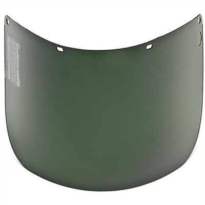 MSA Defender 10005882 Shade 5 Propionate Molded Face Shield Welding Safety Visor