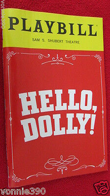 "TONY WINNER Bette Midler ""Hello Dolly"" May Playbill & Postcard"