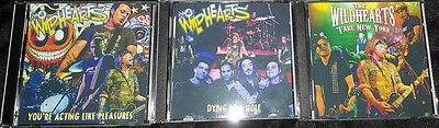 3 Live Wildhearts Double CD Sets Honeycrack Therapy? JackDraw4 Silver Ginger