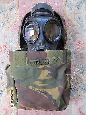 British Army S10 Gas Mask (Size 2), Filter & Good Haversack!