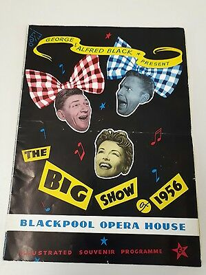 THE BIG SHOW at the Opera House Blackpool 1956 The Lane Brothers, Eve Boswell
