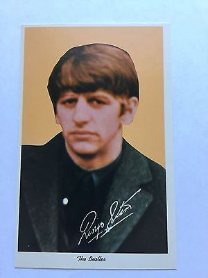 1964 Ringo Starr The Beatles Postcard News Enterprises LTD Nice Condition