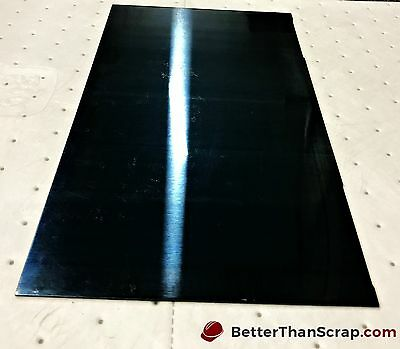 """Spring steel sheet,C1095 BT, .062"""" thick, 6"""" wide, 12.375"""" long"""