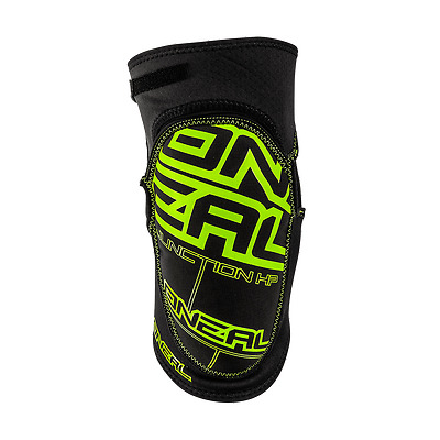 O'neal Junction Hp Nero Verde Ginocchiere Knee Guard Pads Mtb Enduro Downhill