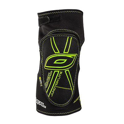 O'neal Junction Lite Nero Verde Ginocchiere Knee Guard Pads Mtb Enduro Downhill