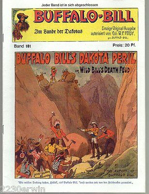 BUFFALO BILL Band 101 / Col.William F.Cody / GROSS-FORMAT