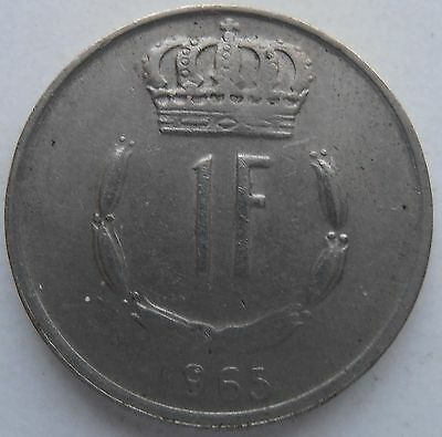 Luxembourg 1 Franc 1965