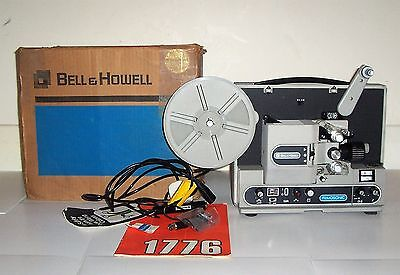 BELL & HOWELL 1776 MLZ FILMOSONIC super 8 sound projector EX condition 8mm
