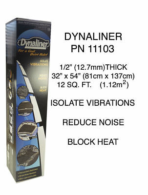 "DYNAMAT DYNALINER 1/2"" 12.7mm32"" X 54"" heat block 11103"
